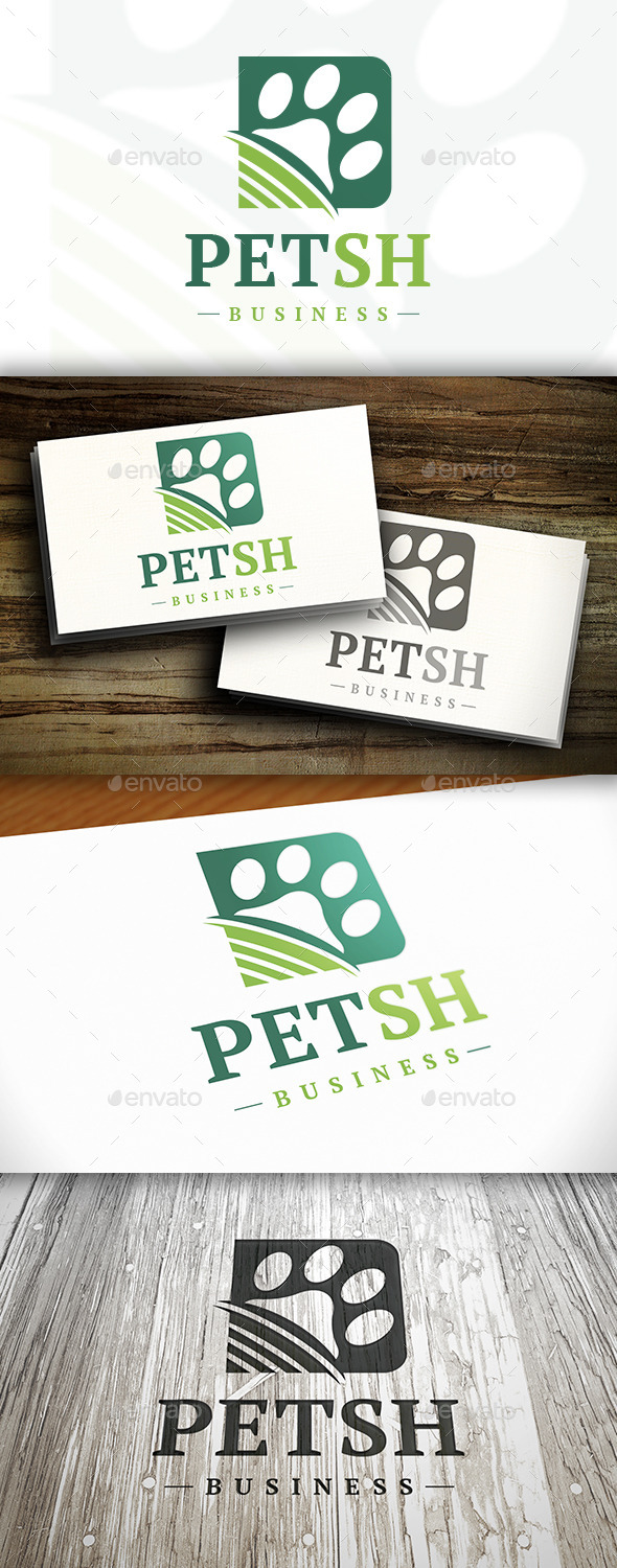 GraphicRiver Pet Shop Logo 10282782
