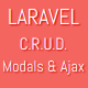 LARAVEL C.R.U.D. with Modals & AJAX