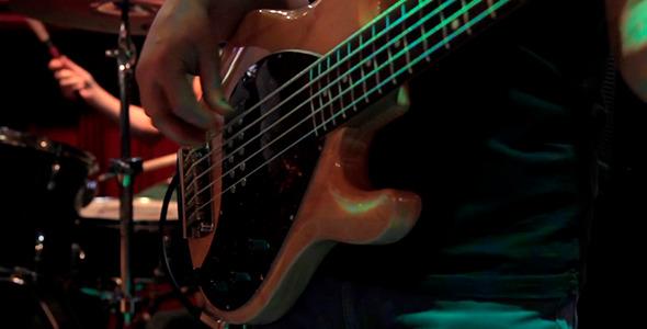VideoHive Bass Guitarist 2 10282839
