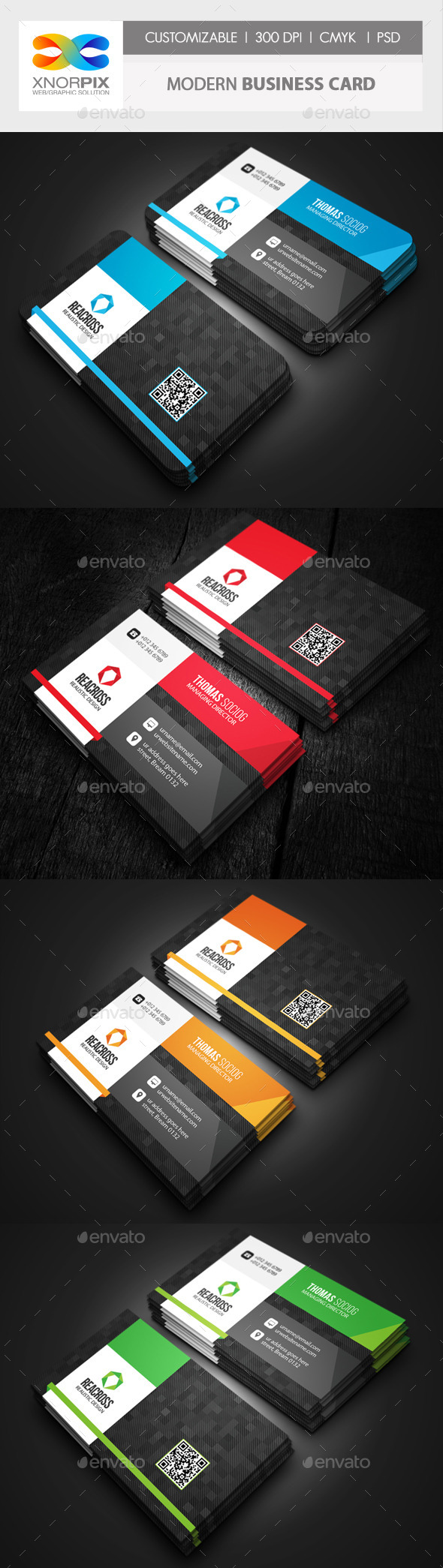 GraphicRiver Modern Business Card 10282843
