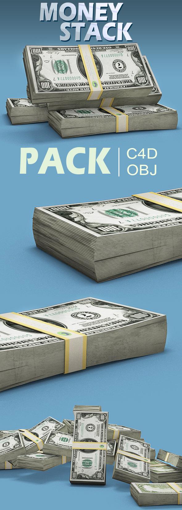 3DOcean Money Stacks 10282872