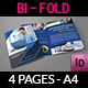 Company Brochure Bi-Fold Template Vol.39 - GraphicRiver Item for Sale