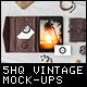 Vintage HQ Mock-Ups - GraphicRiver Item for Sale