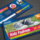 Kids and Shoes Gift Voucher V02 - GraphicRiver Item for Sale