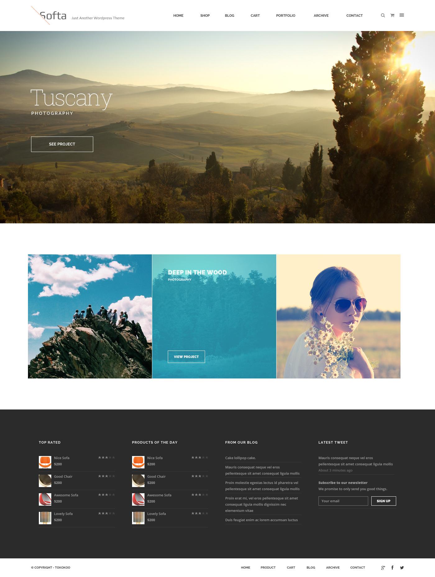 Soffa Furniture Business Wordpress Theme By Tokopress Themeforest