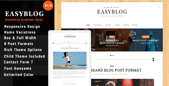 SkyBlog - Responsive WordPress Blog Theme
