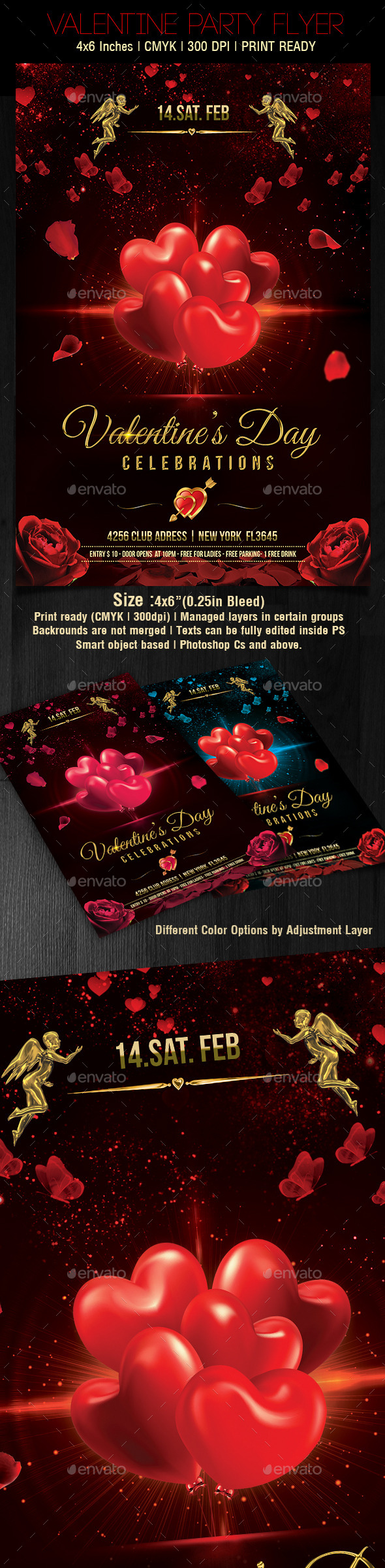 GraphicRiver Valentines Day Flyer v5 10283462