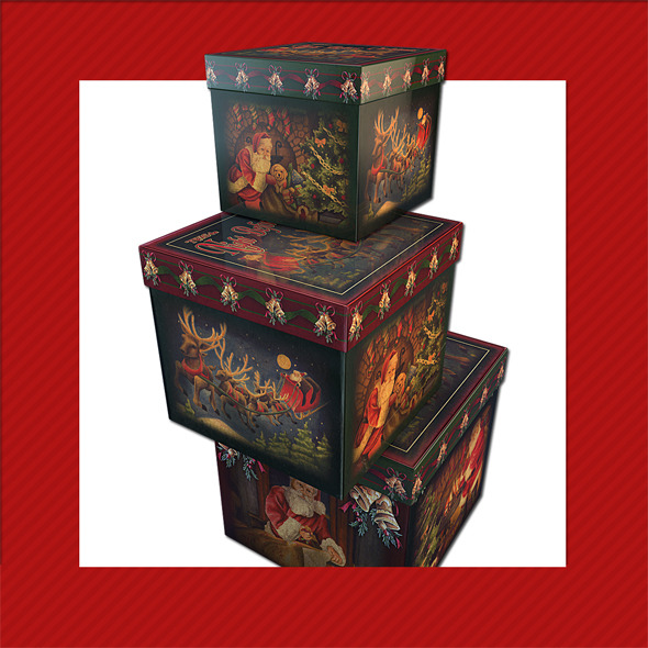 GIFT BOX Christmas Decoration 18 - 3DOcean Item for Sale