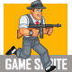 Gangster Game Sprite - GraphicRiver Item for Sale
