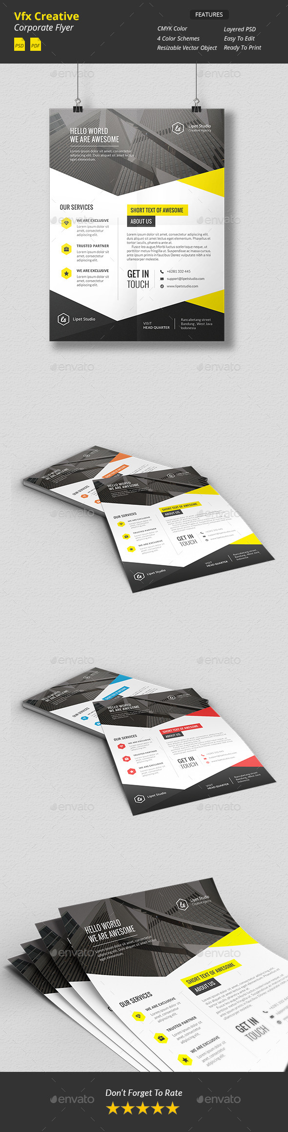Vfx Creative Corporate Flyer v1