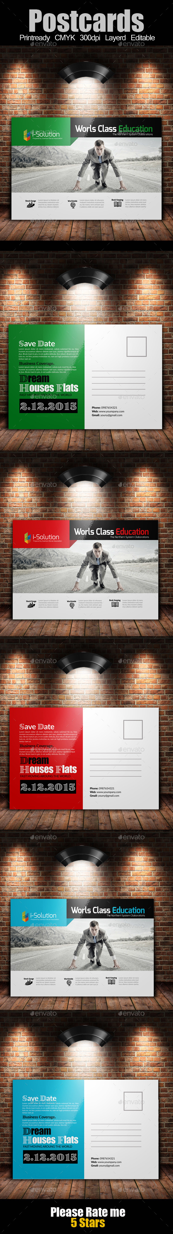 GraphicRiver Multi Use Business Post Cards 10284941