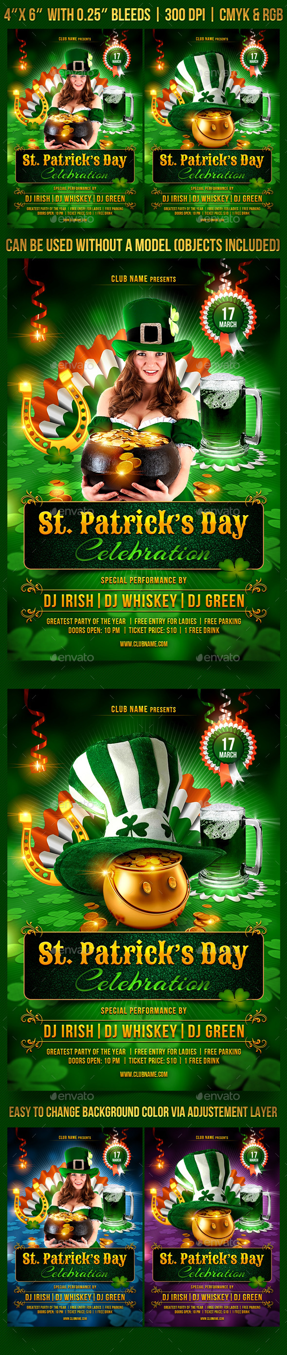 GraphicRiver St Patrick's Day Celebration 10285127
