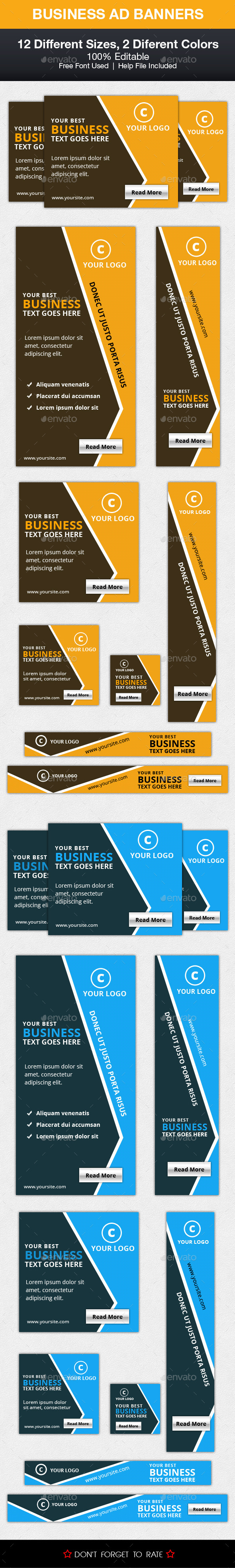 GraphicRiver Business Ad Banner 10285137
