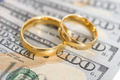 Wedding Rings On Us Dollar - PhotoDune Item for Sale