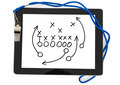 Football Strategy And Whistle On Digital Tablet - PhotoDune Item for Sale