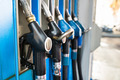 Fuel Pumps At A Gas Station - PhotoDune Item for Sale