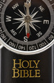 Compass On Bible - PhotoDune Item for Sale