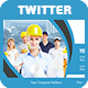Multipurpose Twitter Header Cover - GraphicRiver Item for Sale