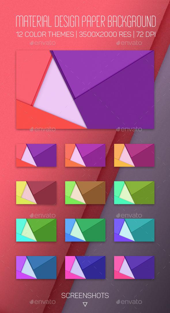 GraphicRiver Material Design Paper Background 10286414