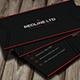 RedLine Corporate Business Card - GraphicRiver Item for Sale