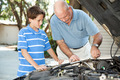 Father and Son Auto Maintenance - PhotoDune Item for Sale