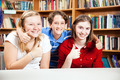 Library Students Give Thumbs Up - PhotoDune Item for Sale