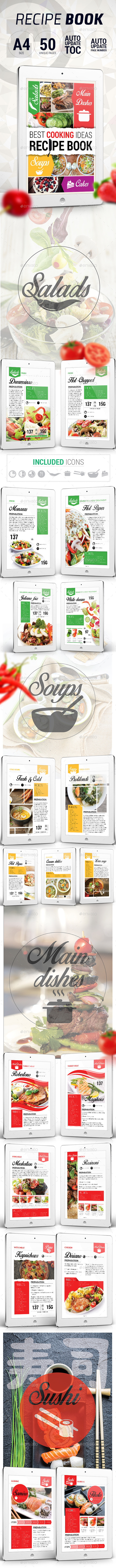 GraphicRiver Amazing Recipe Book 10286916