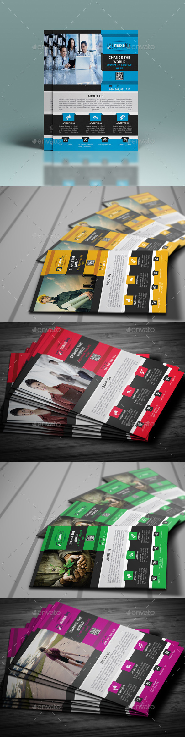 GraphicRiver Business Flyer Template 10287056