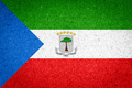 Equatorial Guinea flag on paper background - PhotoDune Item for Sale