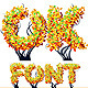 Detailed Tree Aalphabet. Autumn. - GraphicRiver Item for Sale