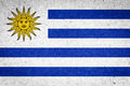 Uruguay flag on paper background - PhotoDune Item for Sale