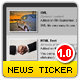 Pro XML News Ticker - auto thumbs - slide effect - htmlText - ActiveDen Item for Sale