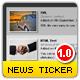 Pro XML News Ticker - auto thumbs - slide effect - htmlText - ActiveDen Item for Sale