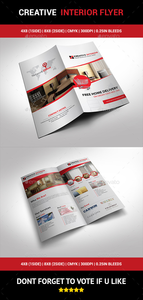 GraphicRiver Creative Interior Flyer 01 10239841