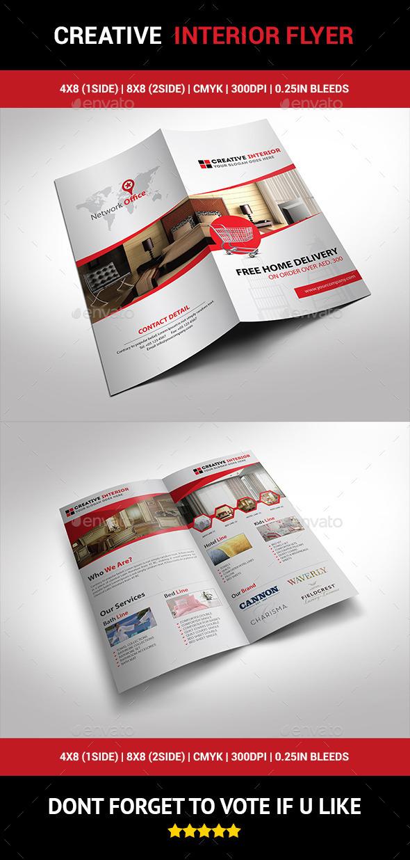GraphicRiver Creative Interior Flyer 01 10239841