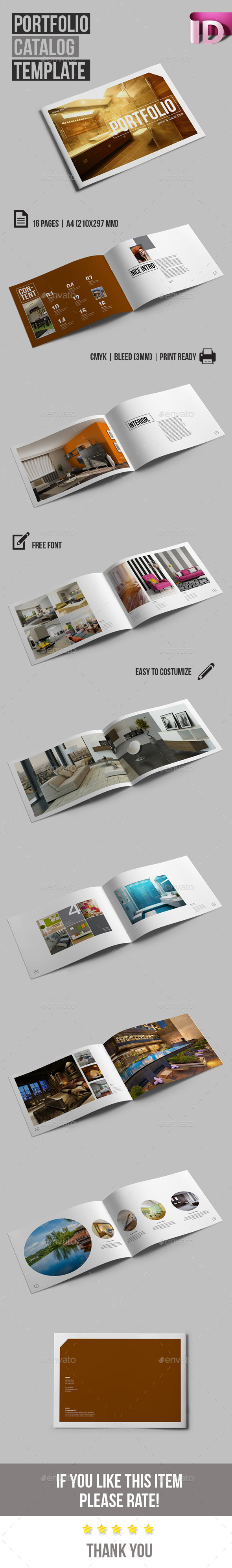 GraphicRiver Multipurpose Catalog Portfolio V.01 10259965