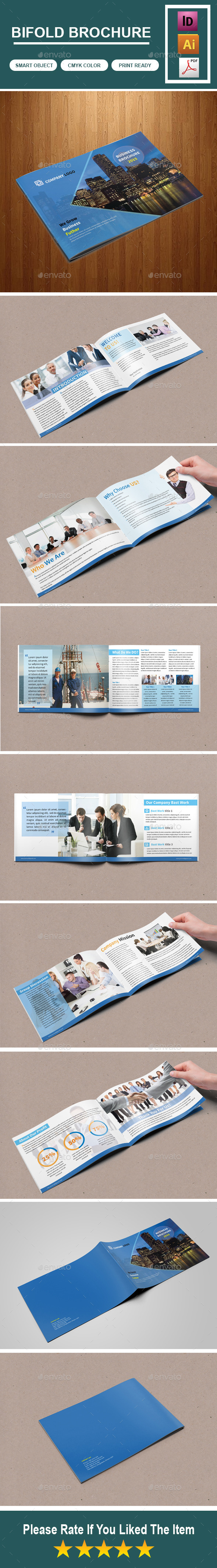 GraphicRiver Corporate Bifold Brochure For-Business 10234711