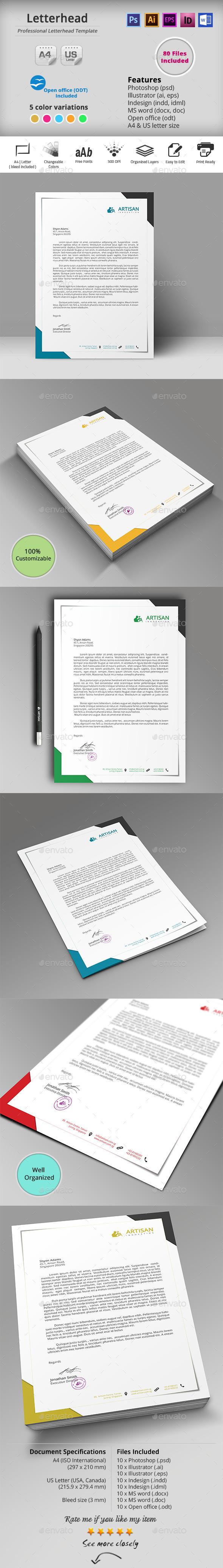 GraphicRiver Letterhead 10287939