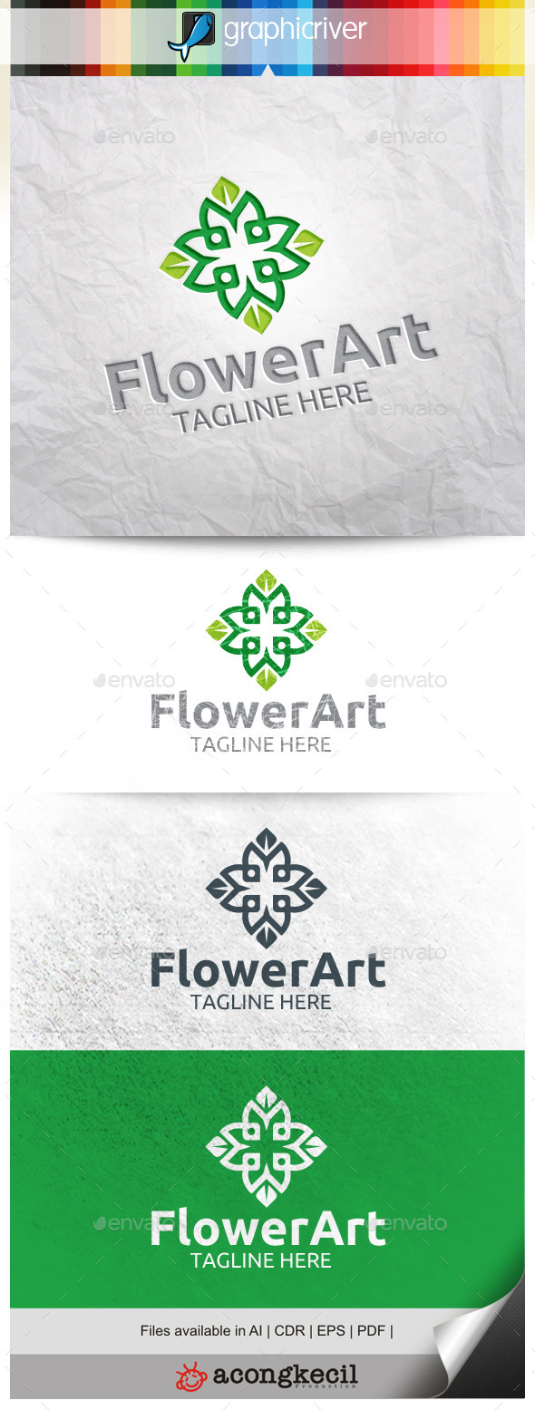 GraphicRiver Flower Art V.4 10287968