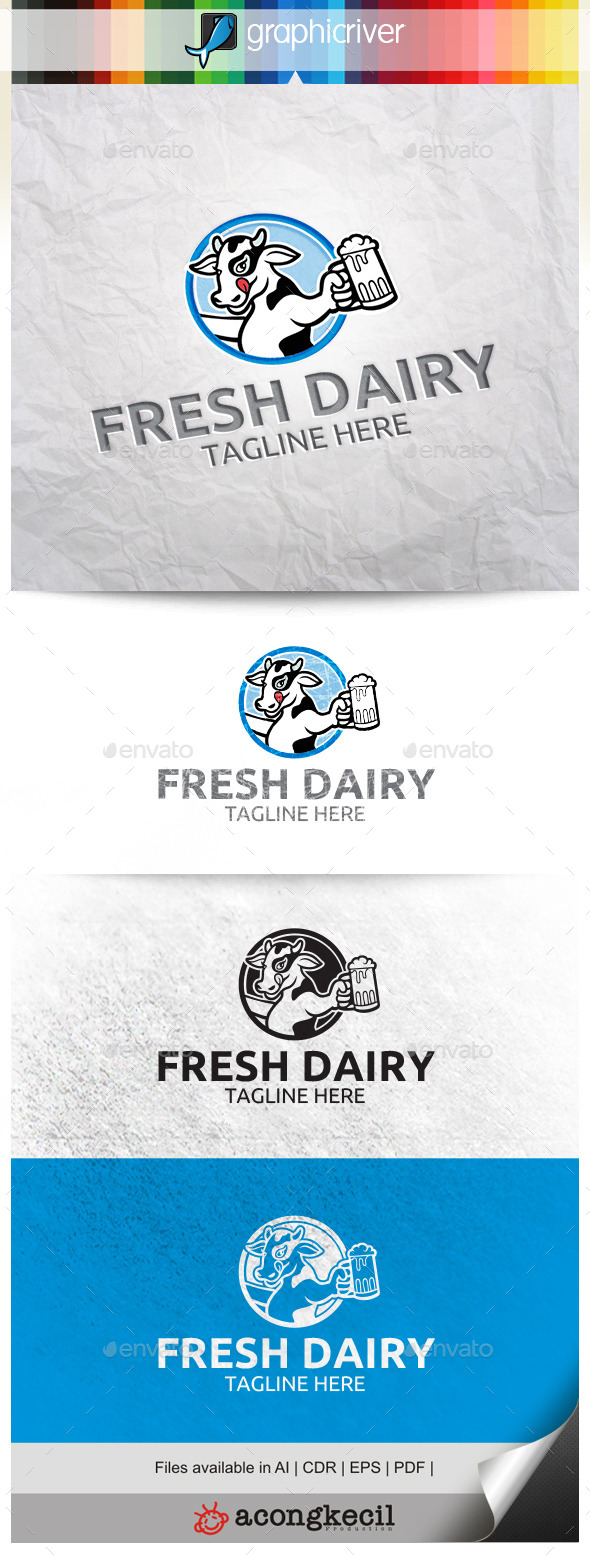 GraphicRiver Fresh Dairy 10287984