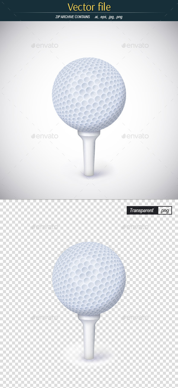 GraphicRiver Golf Ball 10288091