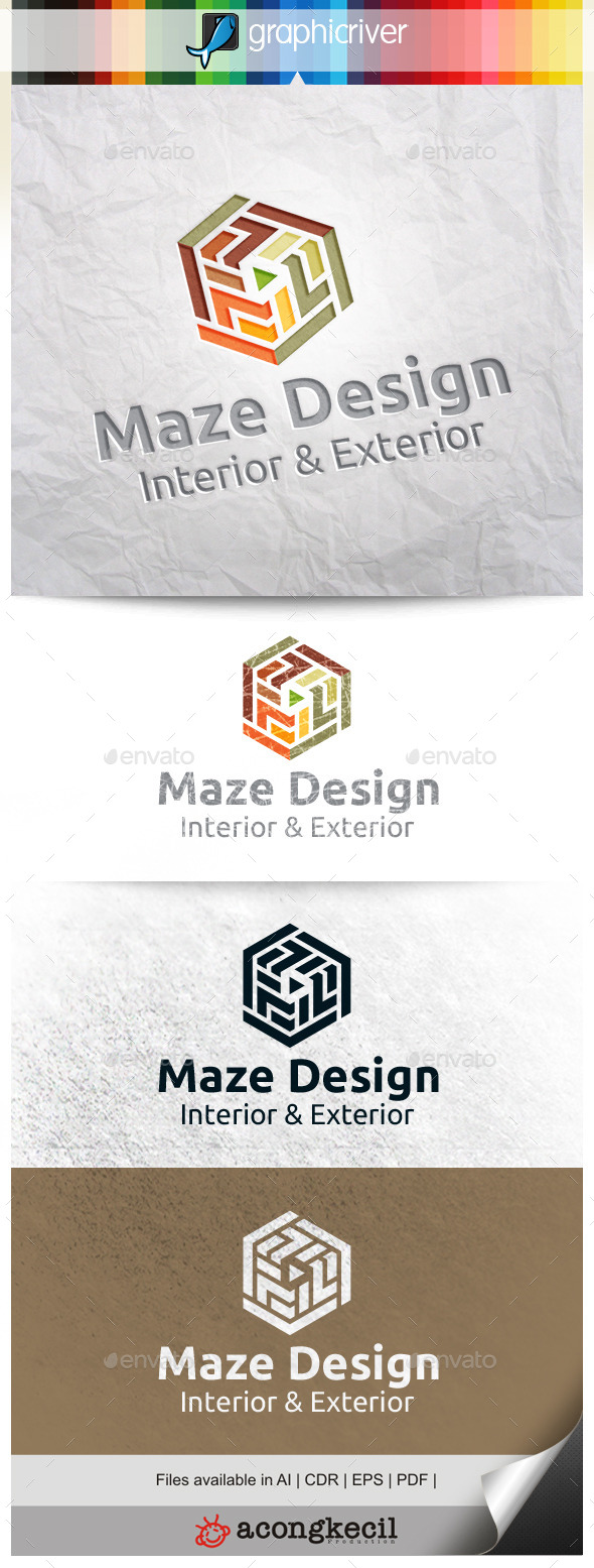 GraphicRiver Maze Design 10288189
