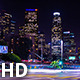 Downtown Los Angeles With Traffic Intersection - VideoHive Item for Sale