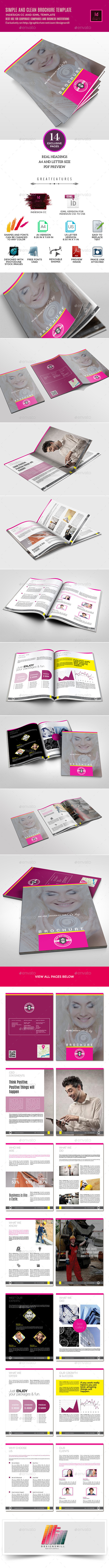 GraphicRiver Big Stone Multipurpose Clean Brochure Template 10288332