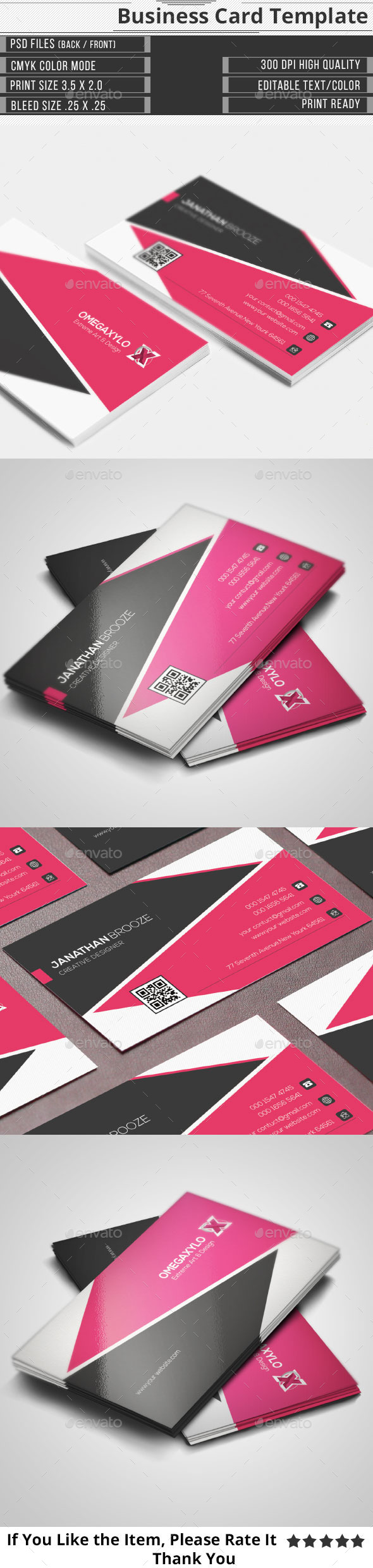 GraphicRiver Elegant Corporate Business Card 10288342