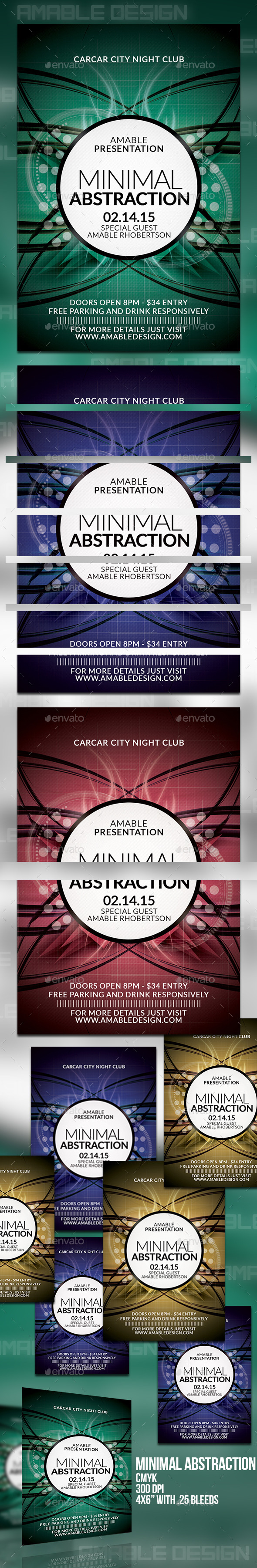 GraphicRiver Minimal Abstraction Flyer 10288854