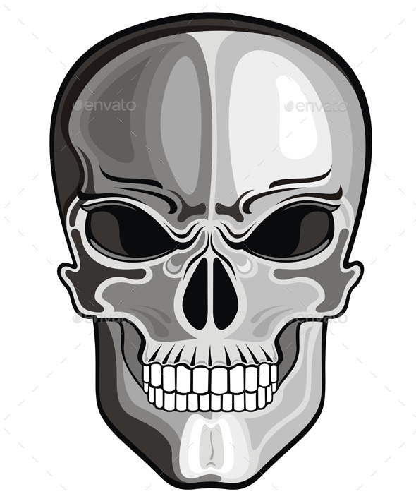 GraphicRiver Skull 10289132