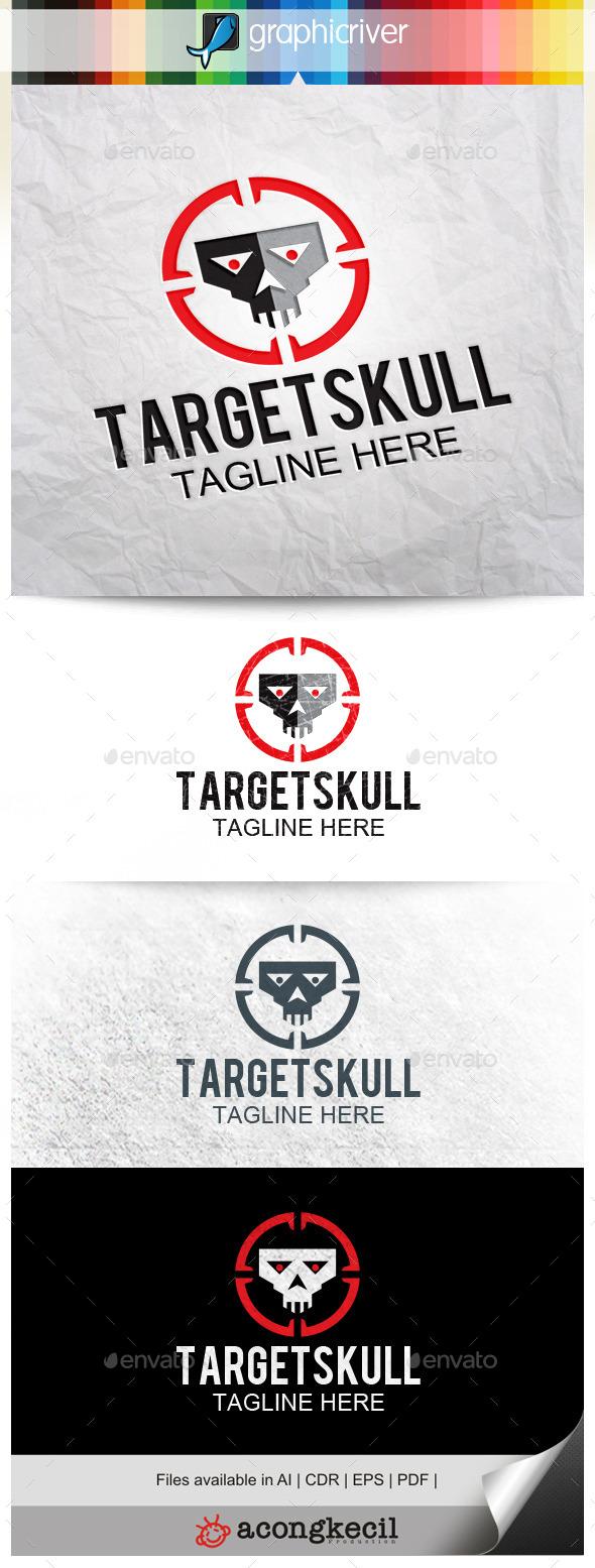 GraphicRiver Target Skull 10289147