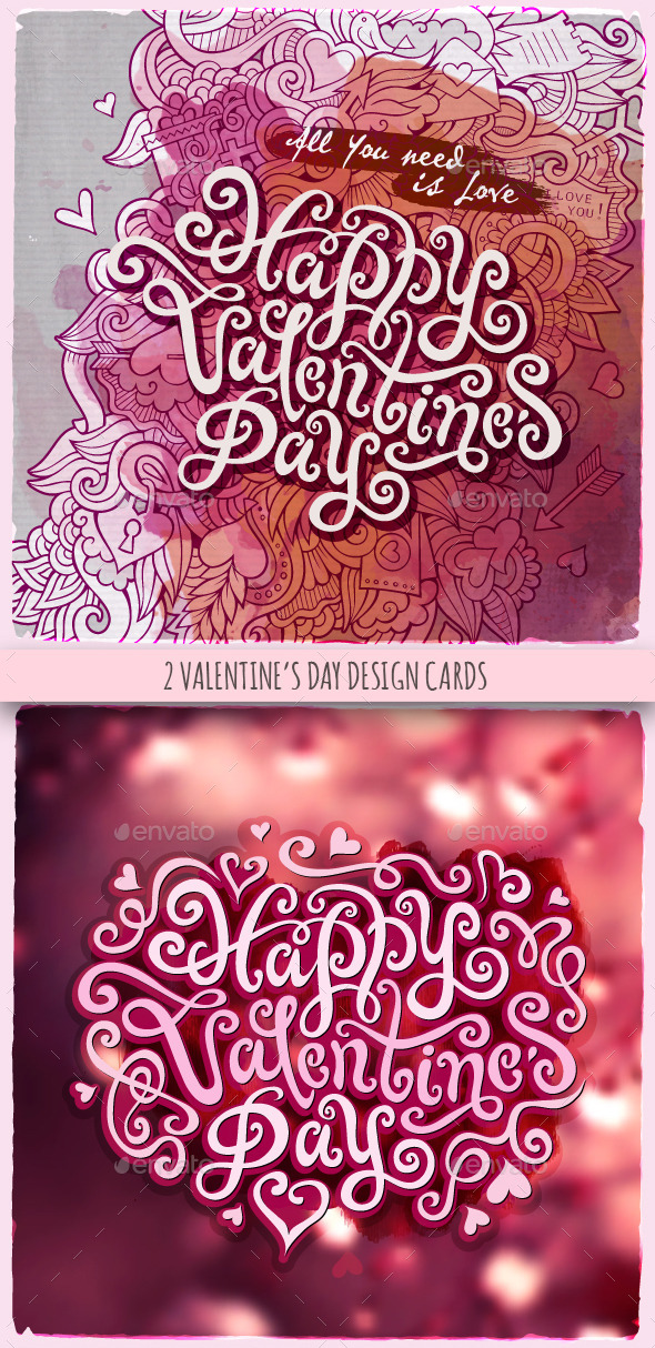 GraphicRiver Valentine s Day Greeting Cards 10289203