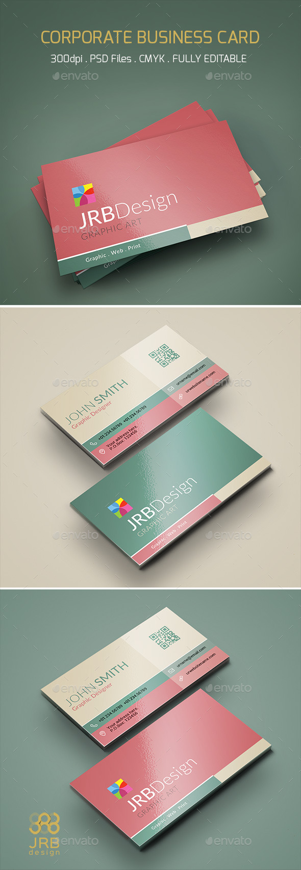 GraphicRiver Corporate Business Card 10289422